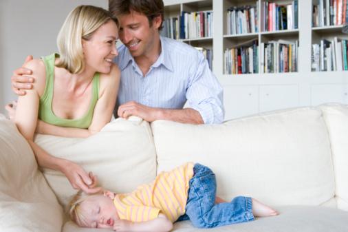 Как уложить ребенка спать?