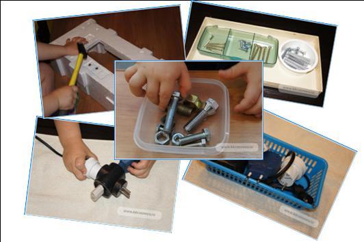 Делаем ароматические баночки или материал для развития обоняния