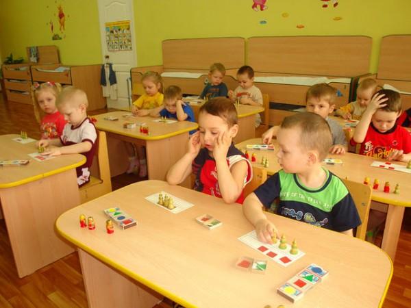 Занятия в обычном детском саду