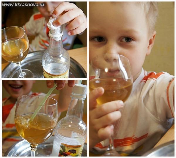 Опыты с содой