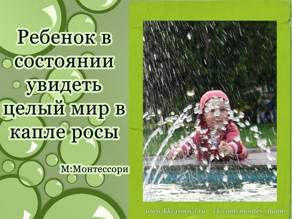 Цитаты Марии Монтессори, часть 3