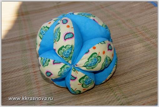 Как сшить мяч Такане