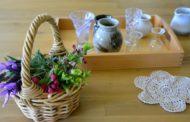 Упражнения практической жизни: составление букетов из живых цветов
